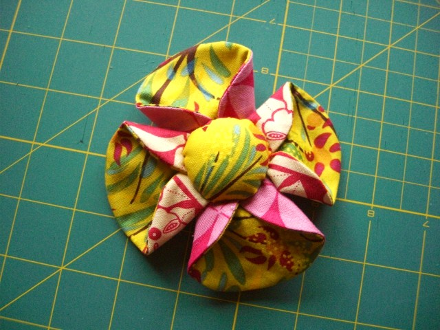 tutarial: tea cup flower sewing series!